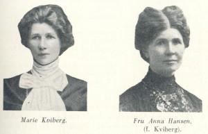 Marie og Anna Kviberg